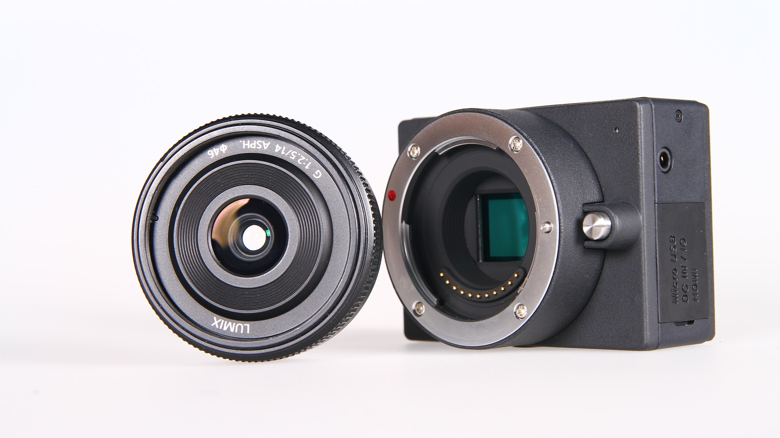 E1 Camera 4k Uhd Interchangeable Lens By Jason Zhang 0in Ultrahd Kamera Action Smallest Form Factor Supports All Panasonic Olympus Mft Lenses And