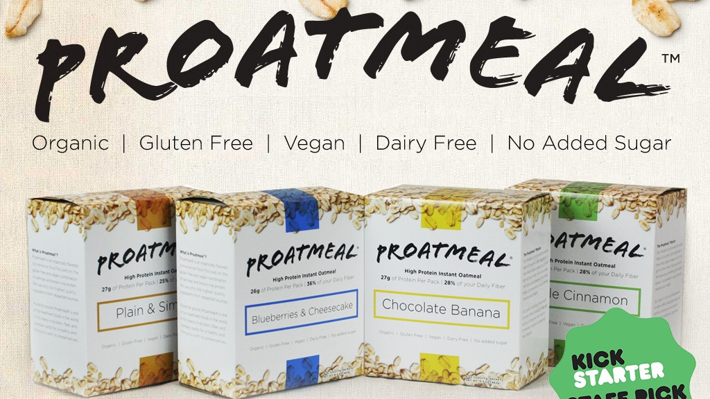 Proatmeal: The world's healthiest instant superfood project video thumbnail