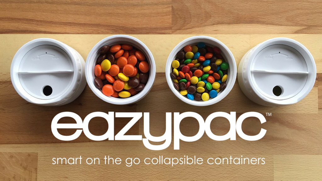eazypac™ | Smart On The Go Collapsible Travel Containers project video thumbnail