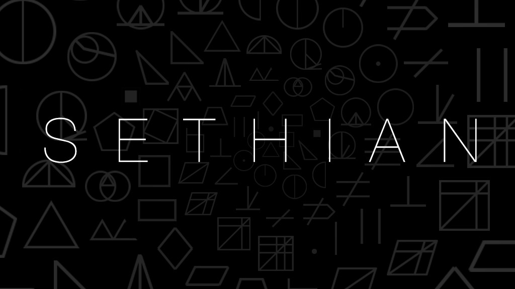Sethian - a sci-fi language puzzle game project video thumbnail