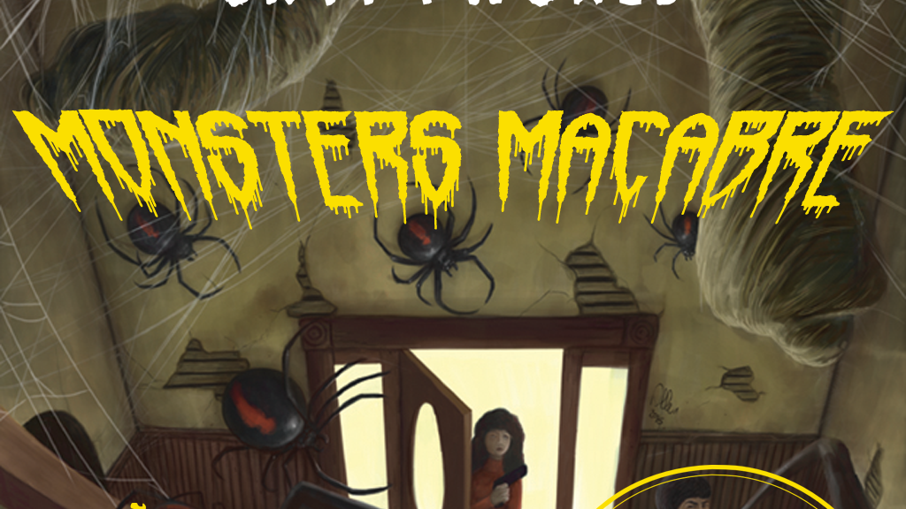 MONSTERS MACABRE, a sourcebook for Cryptworld project video thumbnail
