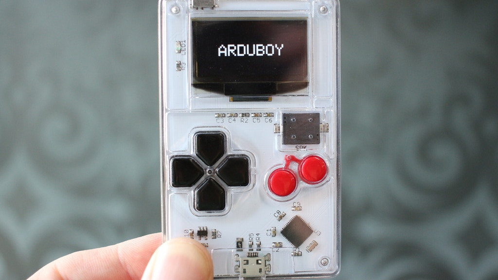 Arduboy - Card Sized Gaming project video thumbnail