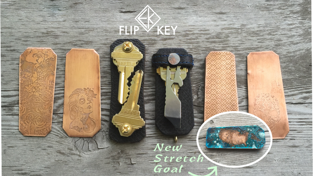 Flip Key - A Modern Keychain project video thumbnail