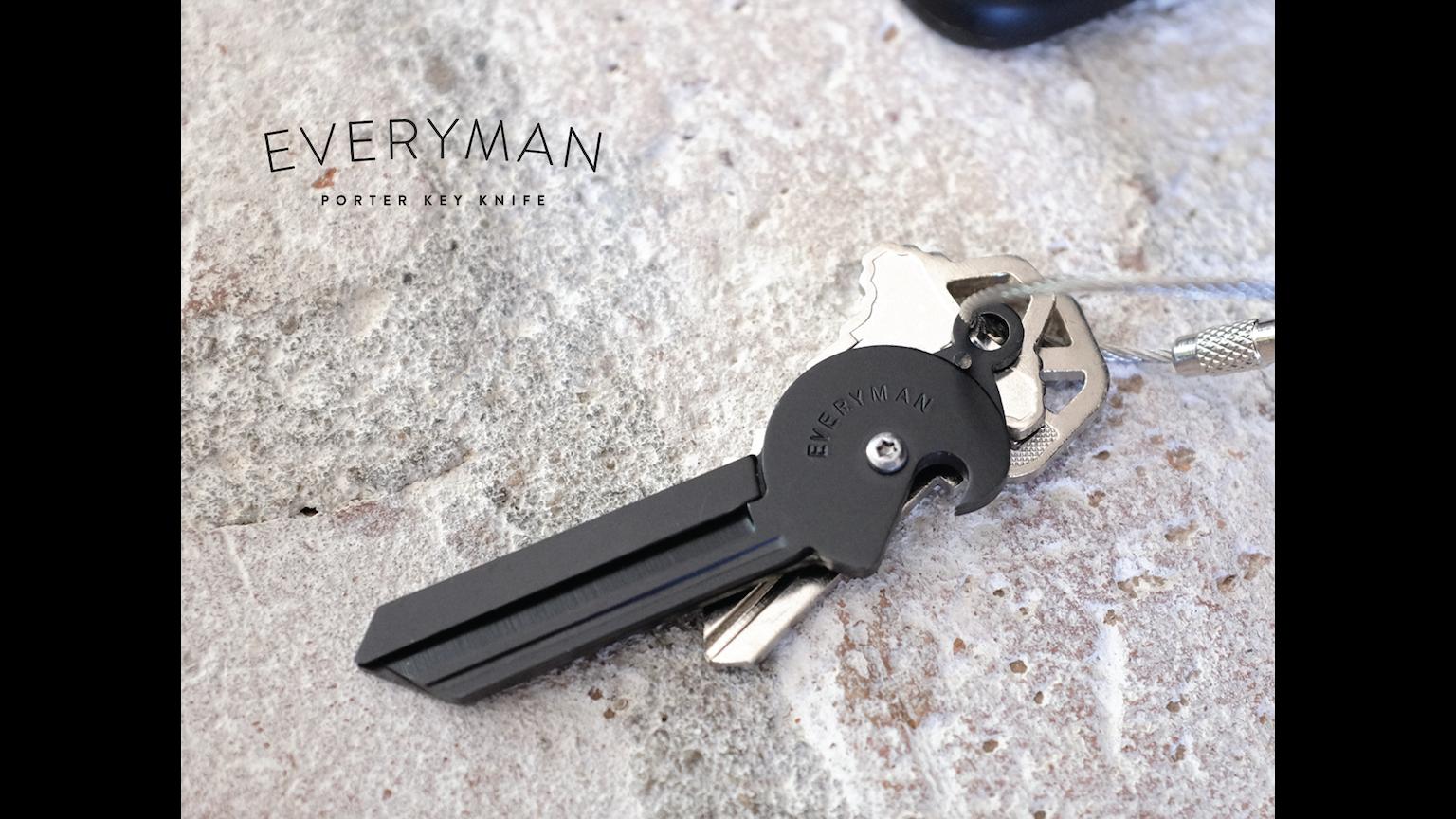 porter key knife bottle opener edc multi tool by everyman kickstarter. Black Bedroom Furniture Sets. Home Design Ideas