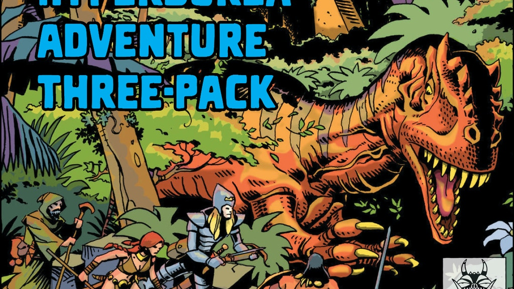 Hyperborea Adventure Three-Pack project video thumbnail