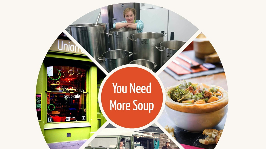 Union of Genius: you need more soup project video thumbnail