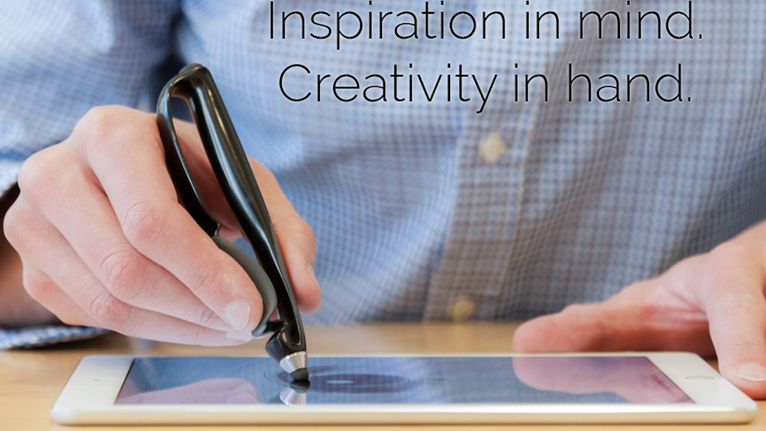 Scriba puts creative control back in your hands. Its flexible body and dynamic squeeze motion responding beautifully to your touch.