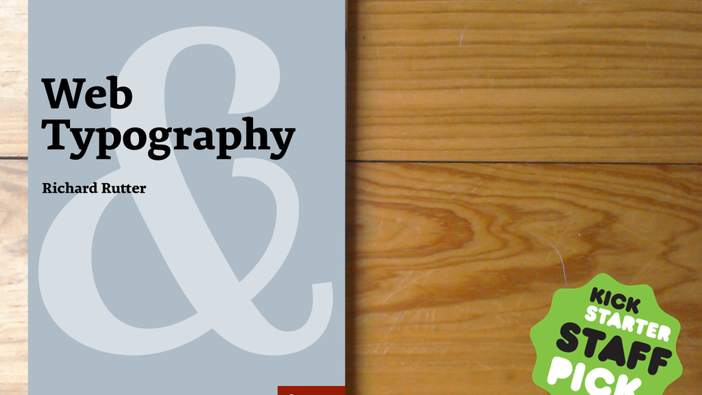 Web Typography – a handbook project video thumbnail