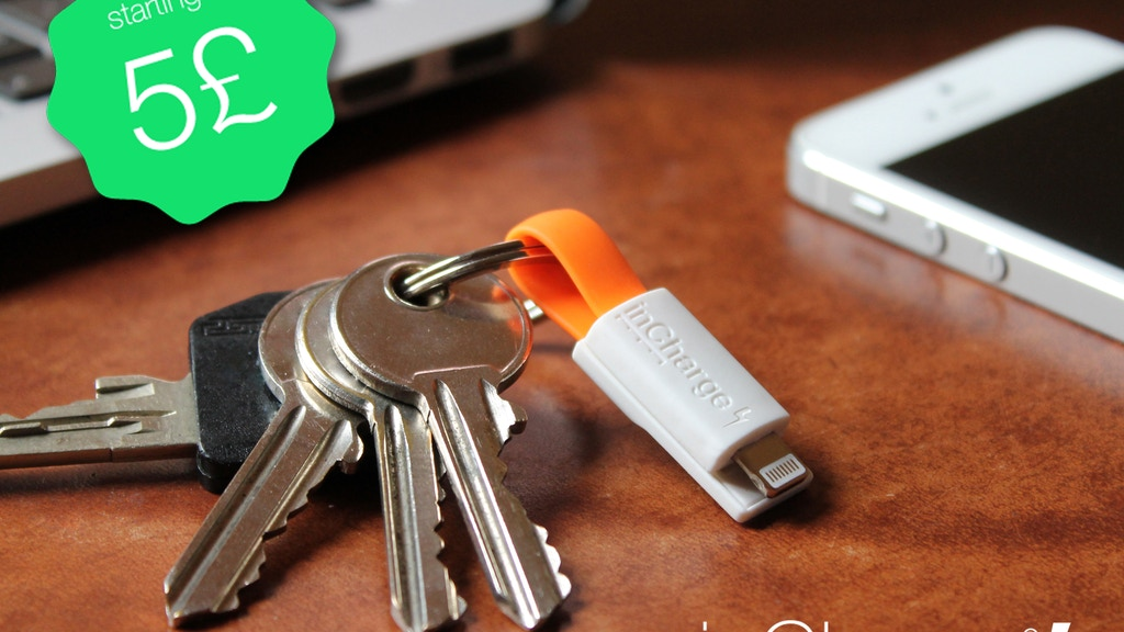 inCharge Bolt - The smallest keyring cable on steroids! project video thumbnail