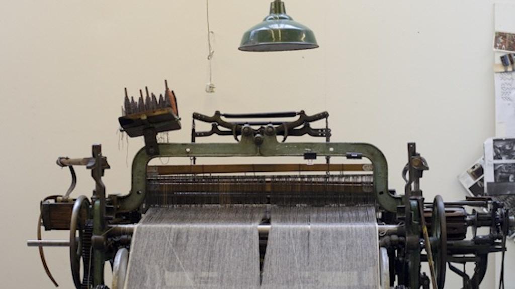 Hattersley Loom: Making Eco-Wool Fabric project video thumbnail