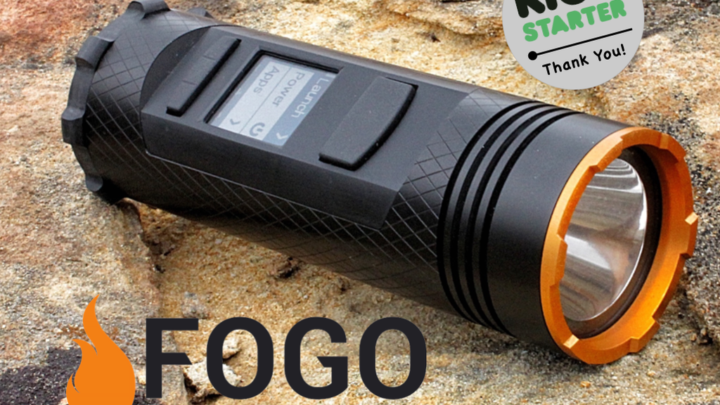 FOGO ADVENTURE GADGET: Walkie-Talkie+GPS+Flashlight+Charger project video thumbnail