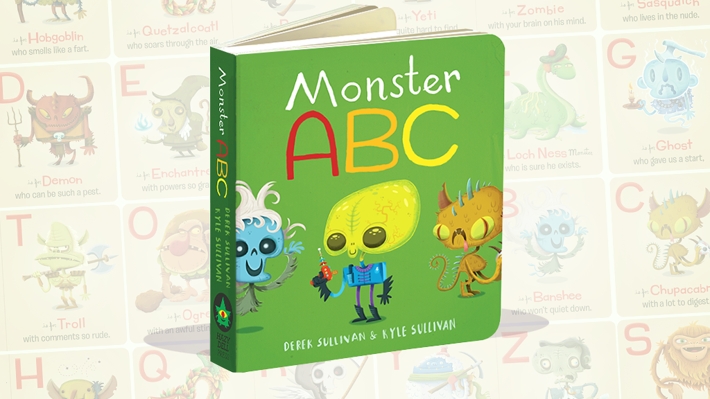 Monster ABC Children's Board Book project video thumbnail