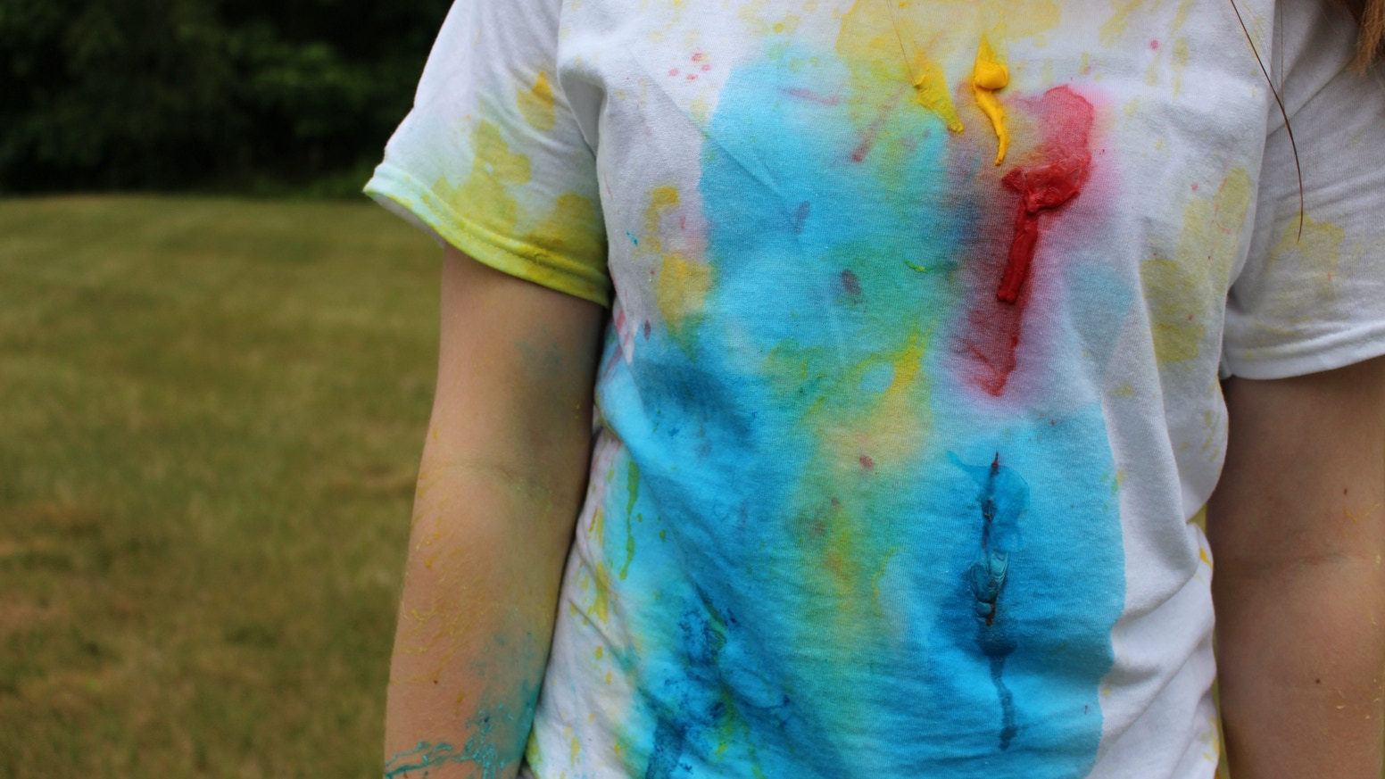 Paintballs that you throw like water balloons