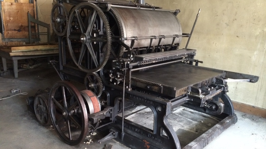 THE MANCOS COMMON PRESS: BRINGING THE PAST INTO THE PRESENT! project video thumbnail