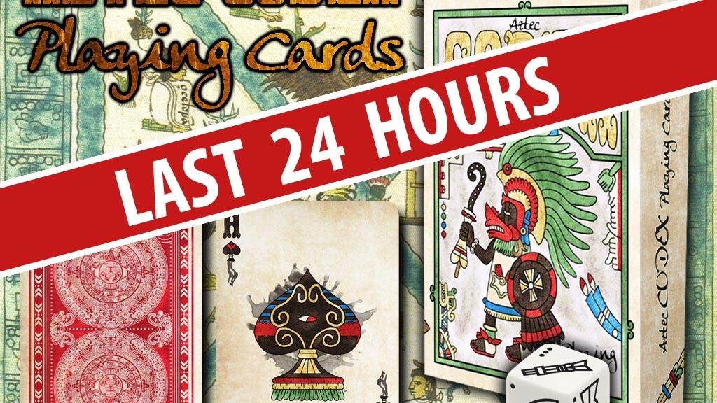 Aztec Codex Playing Cards by Emmanuel Valtierra —Kickstarter