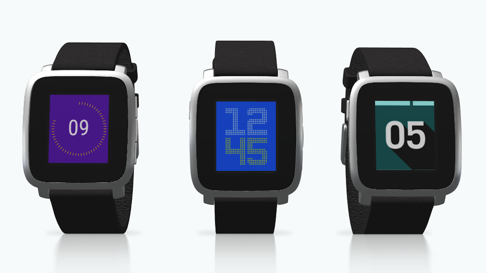 Fully customizable, minimal, but yet stylish watchfaces for your Pebble and Pebble Time Smartwatch.