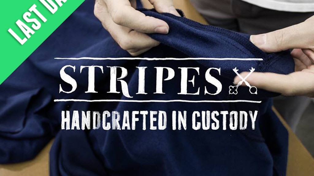 Stripes Clothing | Made in prison, inspired by freedom project video thumbnail