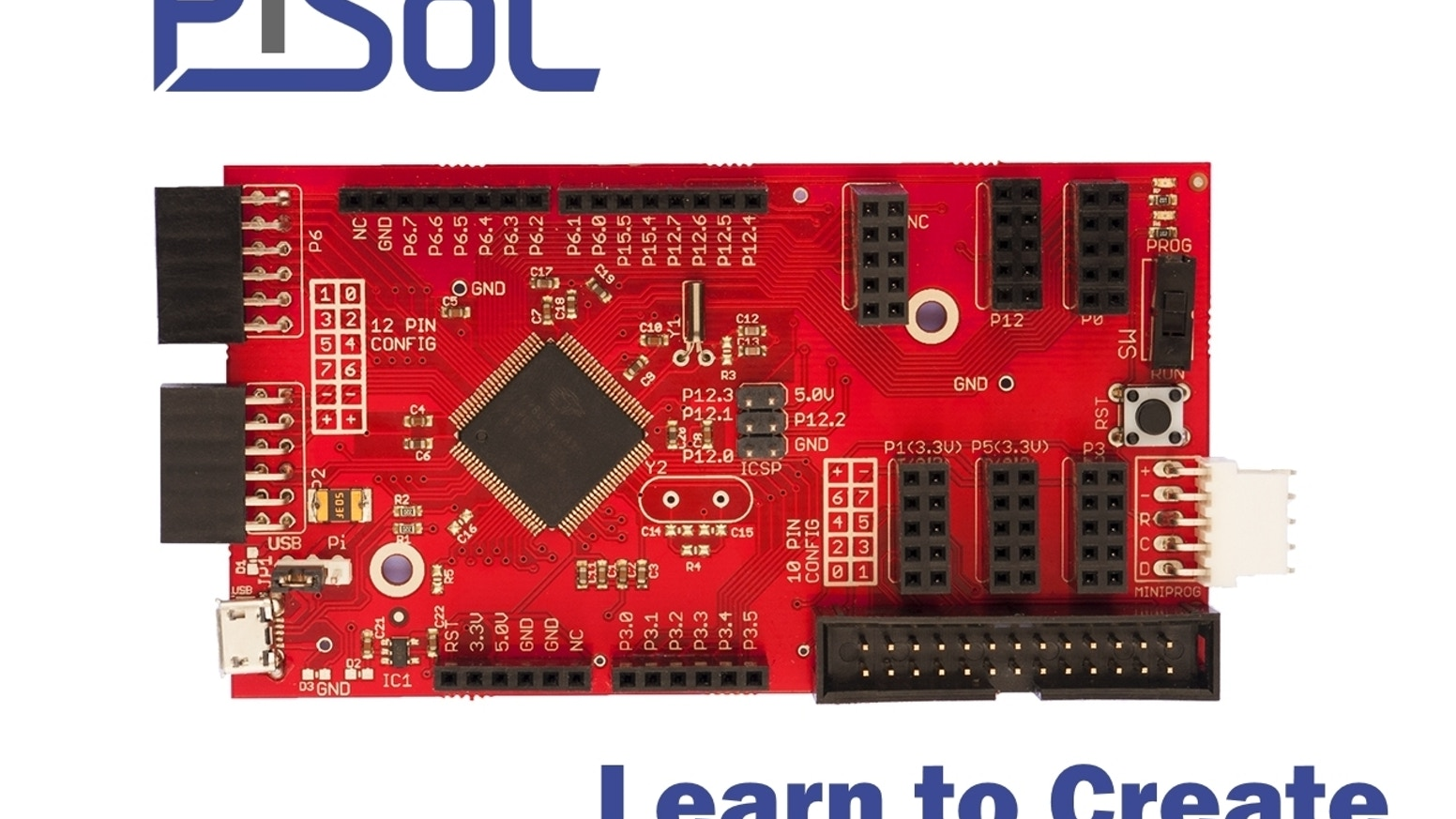 Pisoc Learn To Create By Embedit Electronics Kickstarter Embedded Systems Blog Pic Microcontroller Based Electronic Lock The Is An Open Source Development Platform Which Gives Each Person A Unique Opportunity
