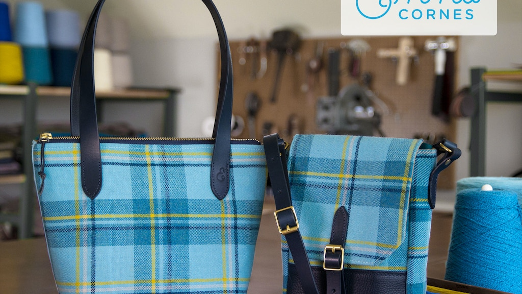 Tweed Bags Welsh Inspired Scottish Woven English Made Project Video Thumbnail