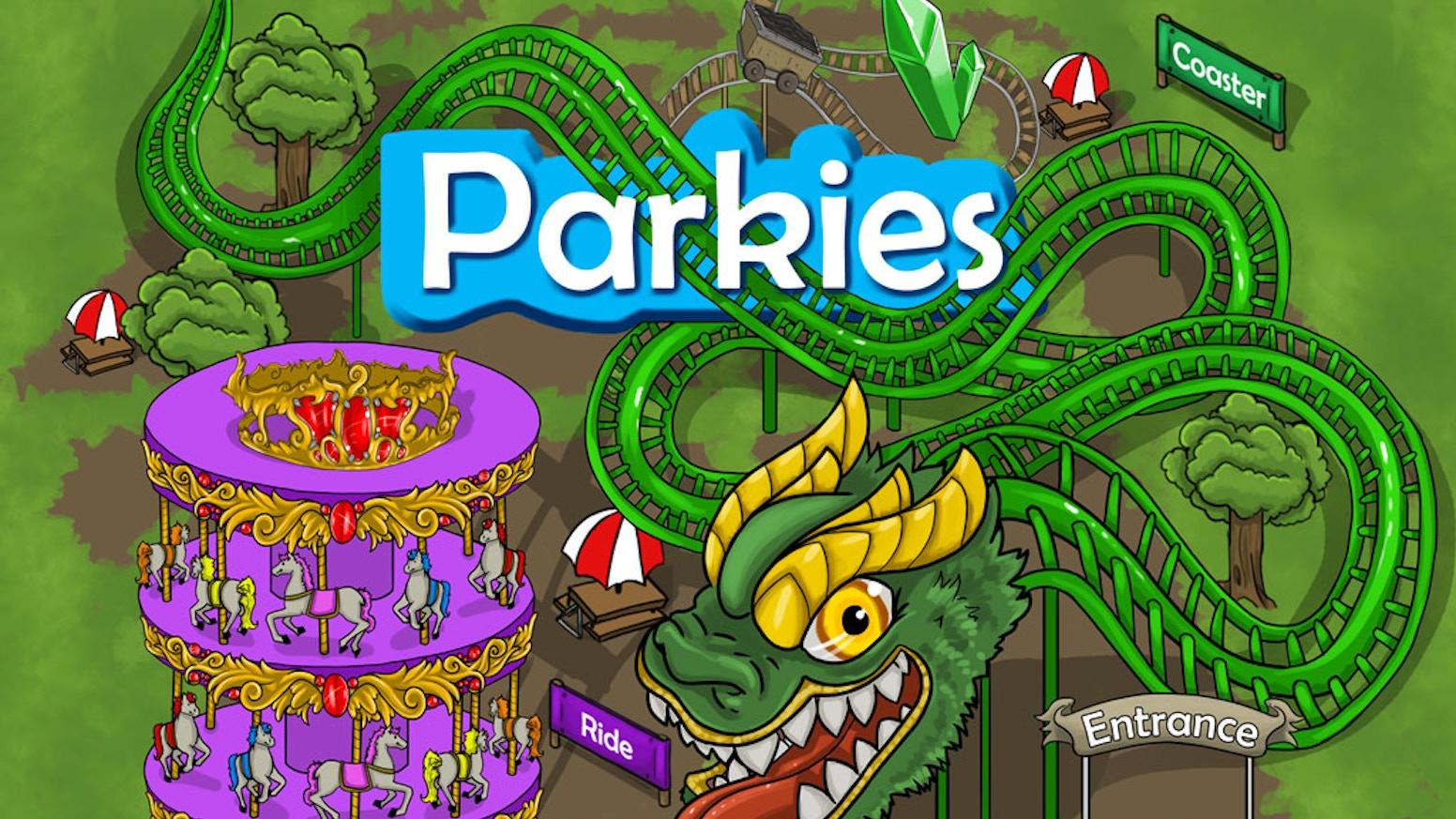 Build a theme park. Become a Parkie!