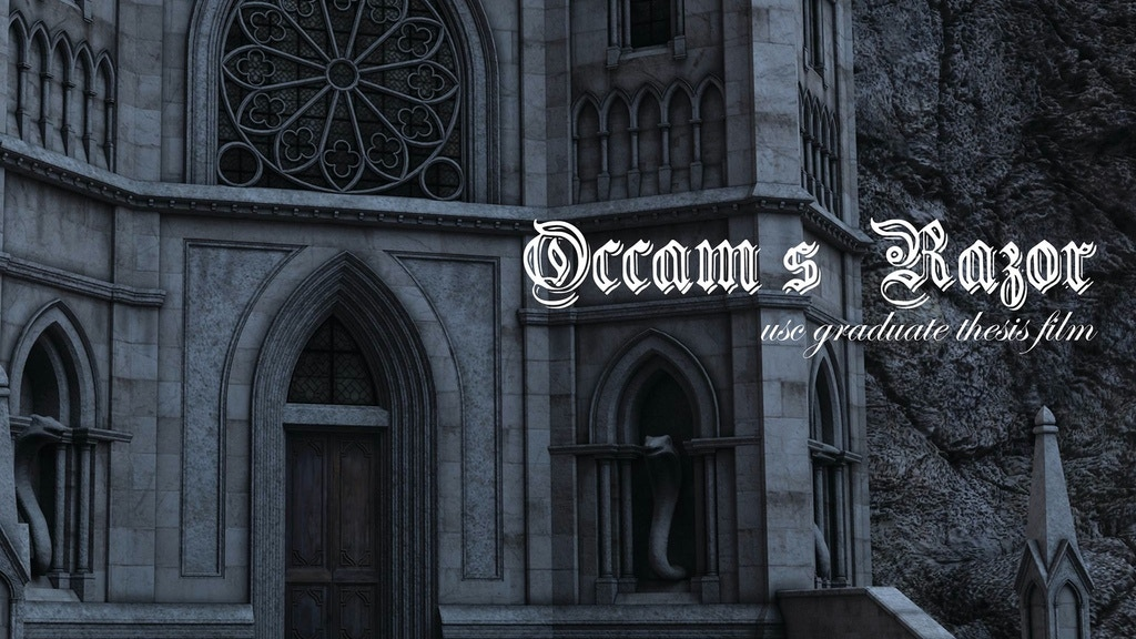 Occam's Razor - A USC Thesis Film project video thumbnail