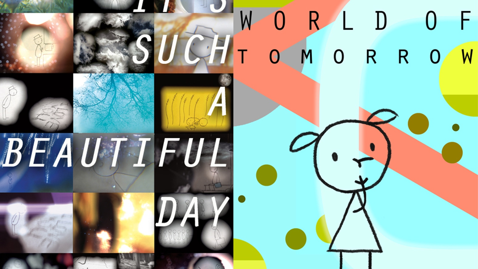 "Let's make a limited edition ""It's Such a Beautiful Day"" / ""World of Tomorrow"" Blu-ray !"