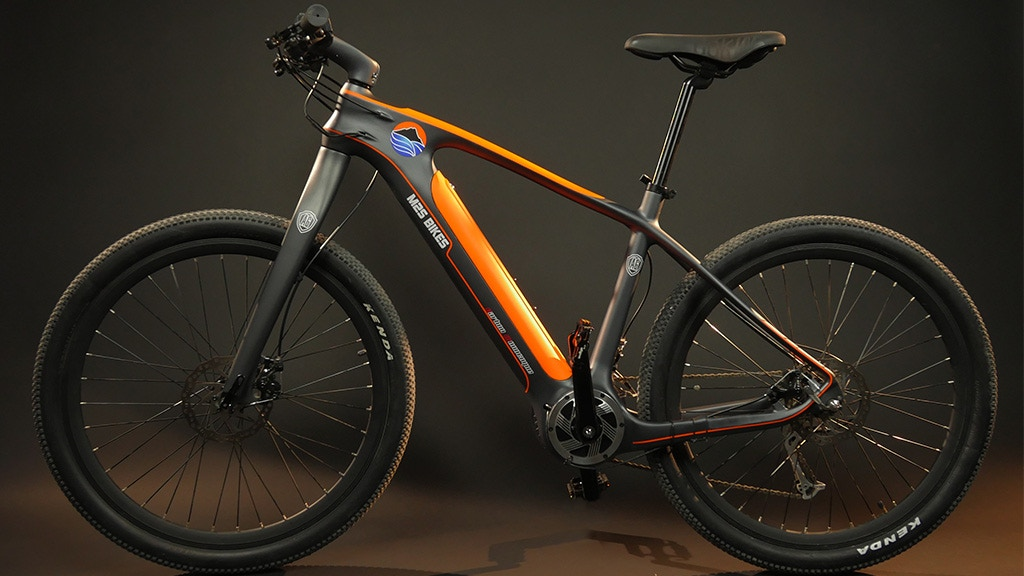 The All-Go | Carbon Fiber Electric Bike project video thumbnail