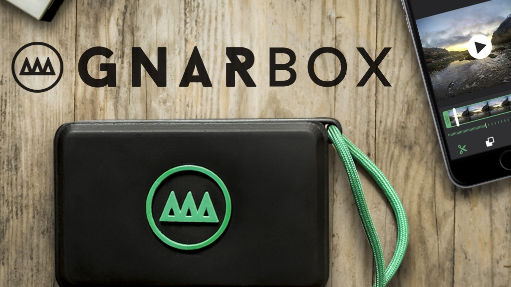 GNARBOX: Edit & Share HD Footage in Seconds - Laptop Free project video thumbnail