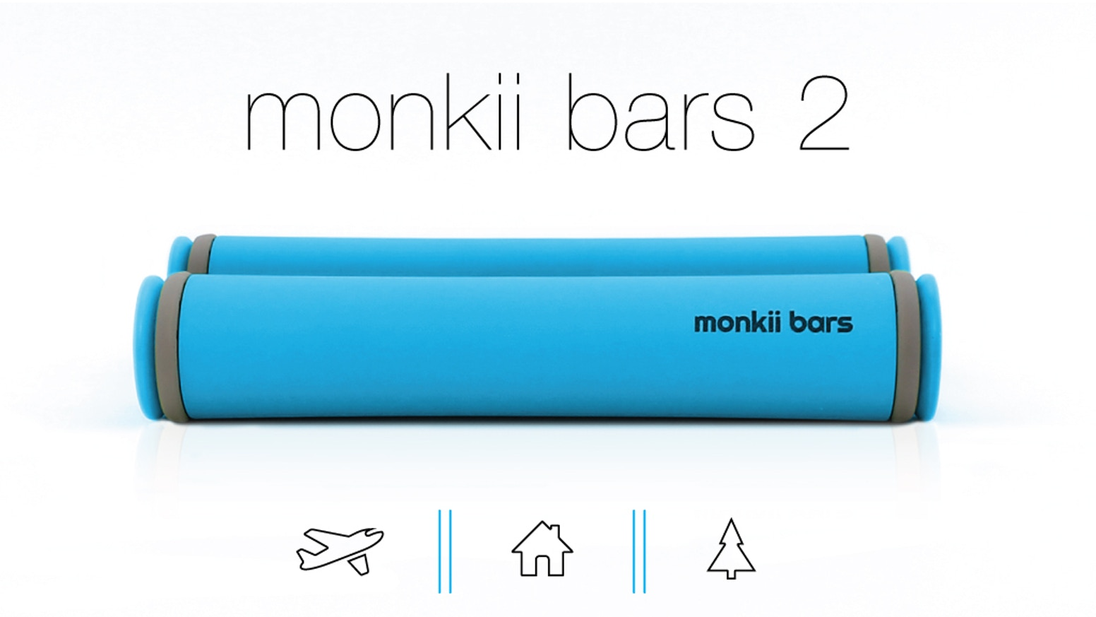 monkii bars 2 is our best-selling and most advanced training tool for those serious about taking their workouts outdoors.  We completely re-imagined bodyweight training and designed a device that is ultra-portable, feature-packed and insanely-challenging.
