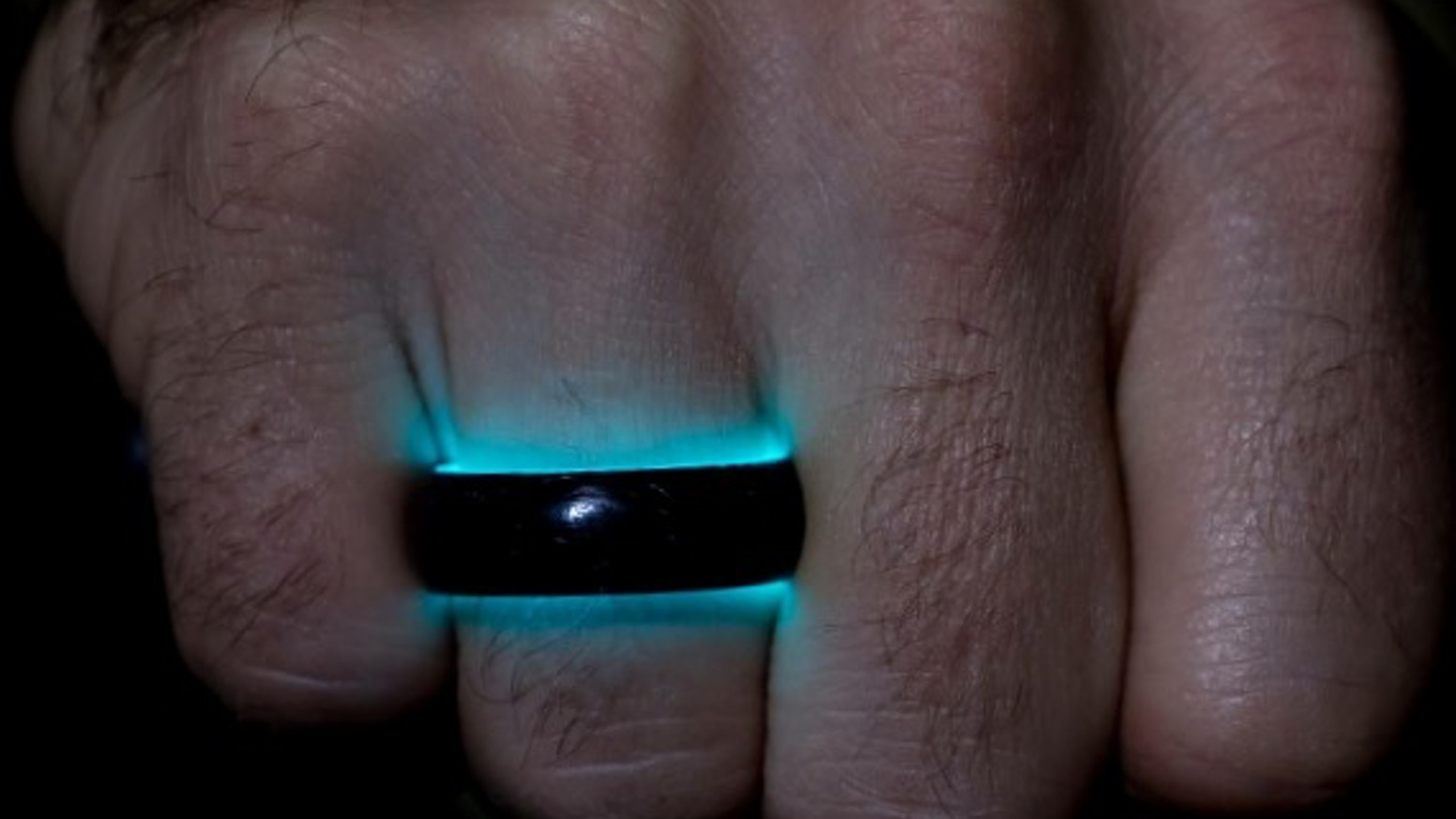 ring glow mini lume cobalt runerefinery products rings