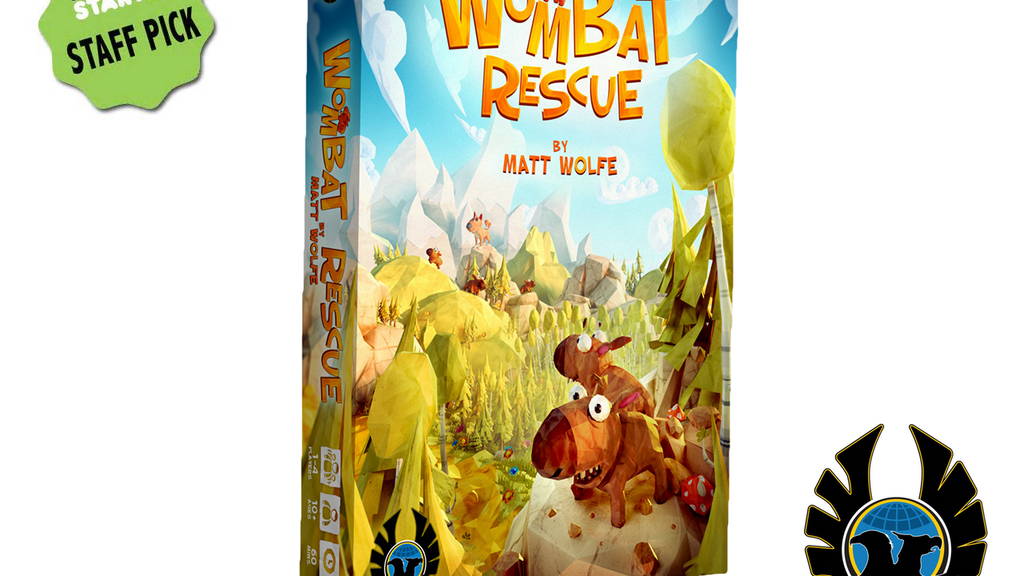 Wombat Rescue: Unlike any game seen, played or smelt before! project video thumbnail
