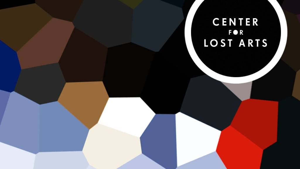 Center for Lost Arts – a document project video thumbnail
