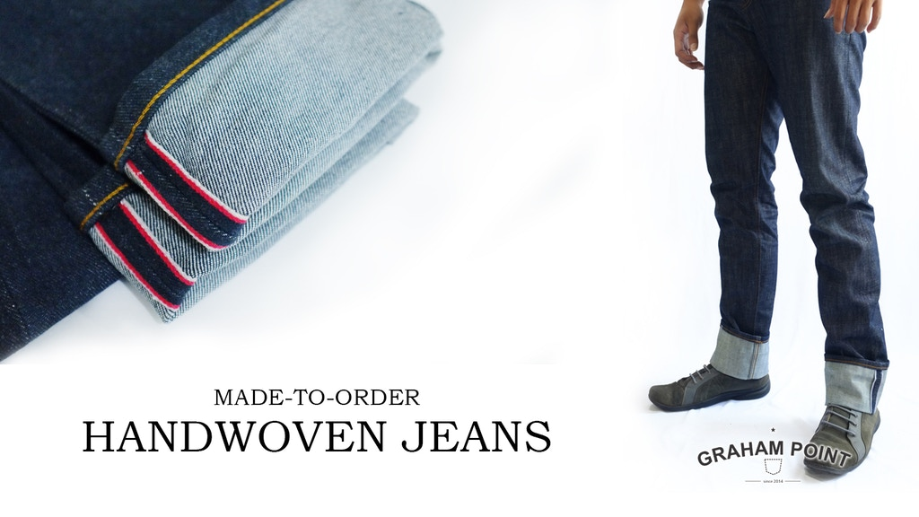 Graham Point - Handwoven Selvedge Customize Jeans project video thumbnail