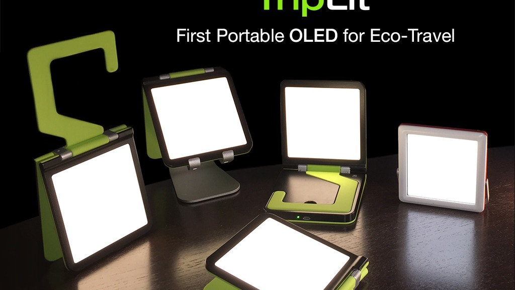 TripLit: The World's First Portable OLED Light project video thumbnail