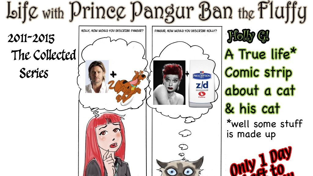 Prince Pangur Ban the Fluffy the Collected Series project video thumbnail