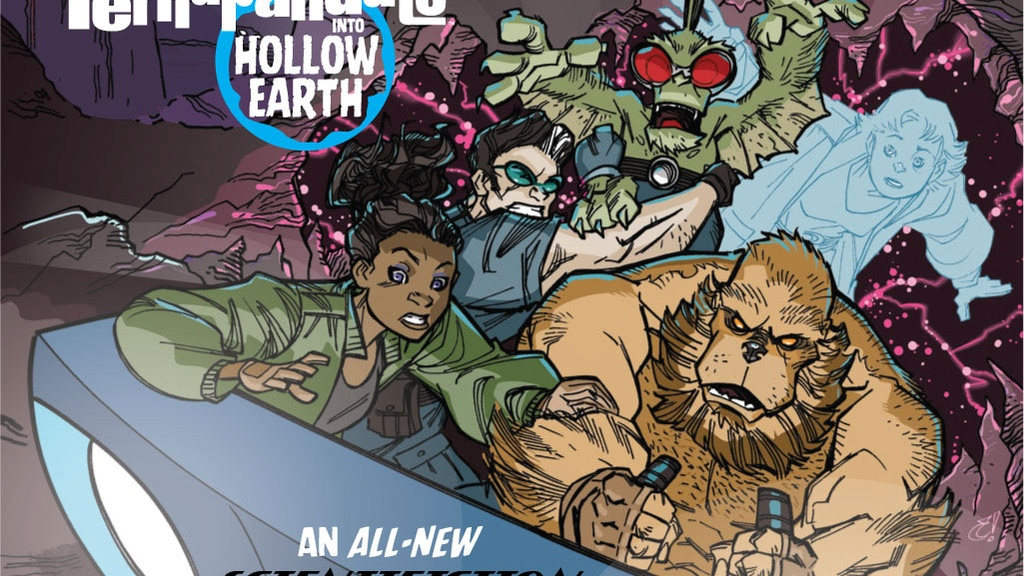 THE PERHAPANAUTS: INTO HOLLOW EARTH original Graphic Novel project video thumbnail