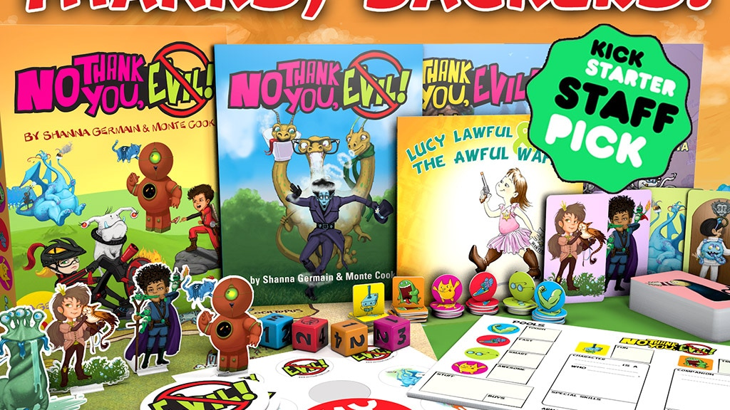No Thank You Evil A Game Of Make Believe For Families By Monte