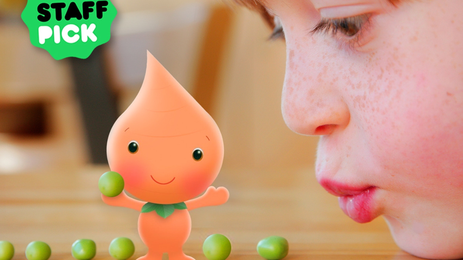 Blue's Clues creator Traci P. Johnson's animated TV show for preschoolers based on the award winning healthy eating app Rainbow Power.