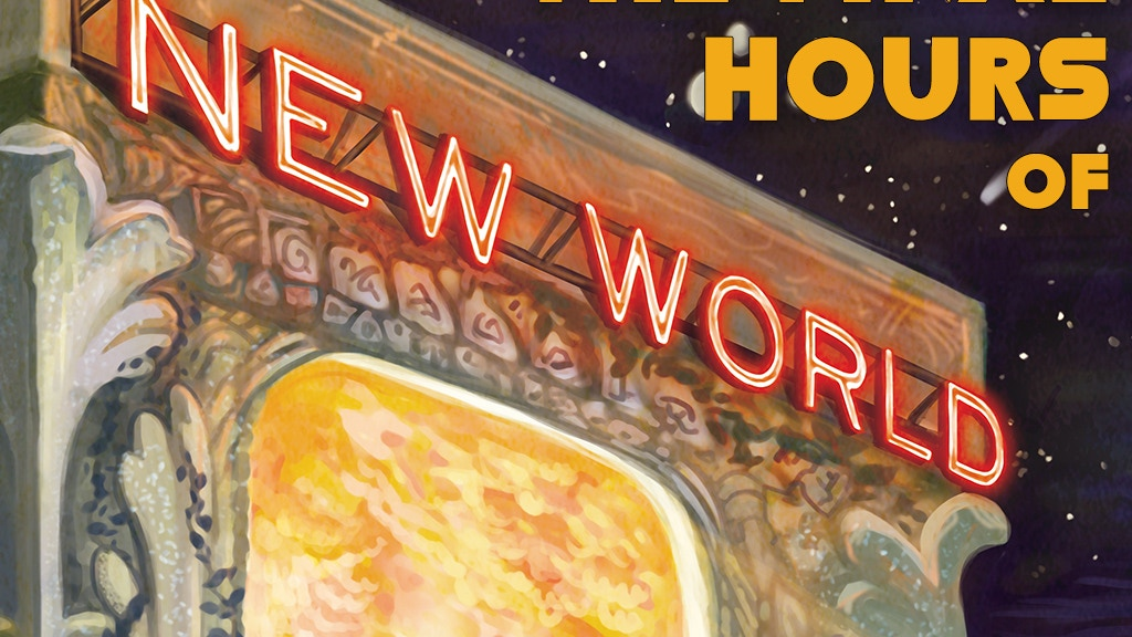 New World: A Sci-Fi/Fantasy Anthology project video thumbnail