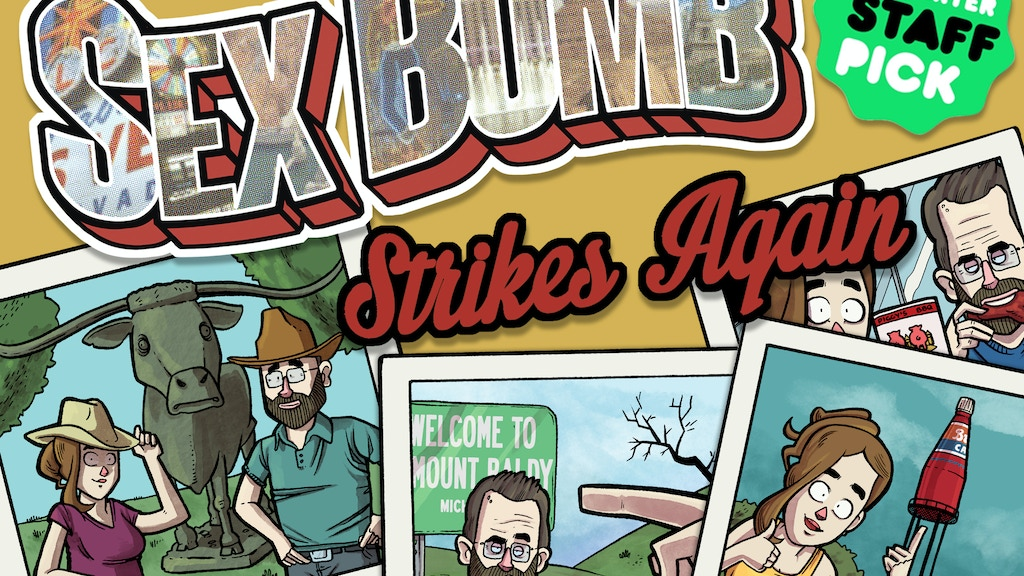 Sex Bomb Strikes Again (a graphic novel) project video thumbnail