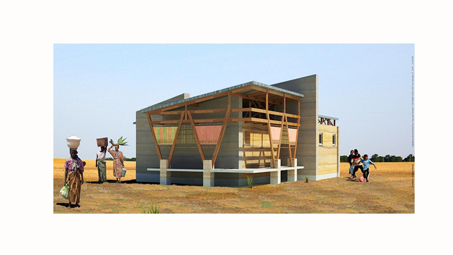 Kente house by angeles hevia kickstarter