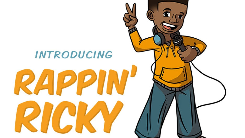 Rappin' Ricky! - Educational Rap For Kids Of All Ages! project video thumbnail