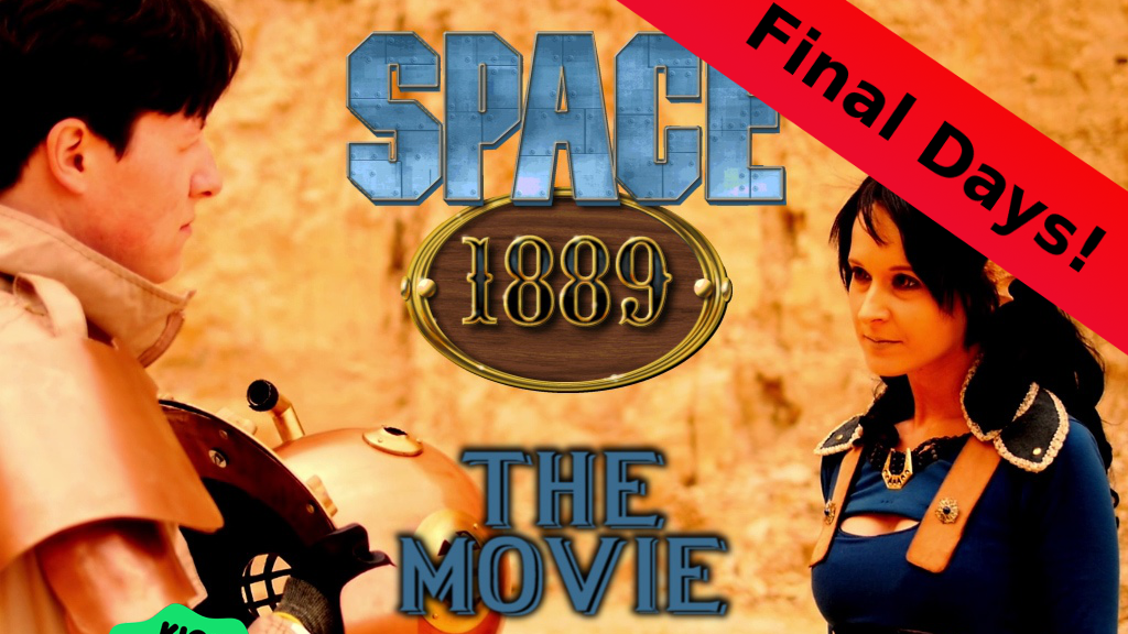 Space 1889: The Secret of Phobos - a Victorian Sci-Fi movie project video thumbnail