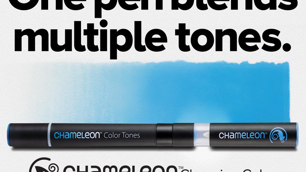 Chameleon Pens: One Pen Blends Multiple Color Tones project video thumbnail