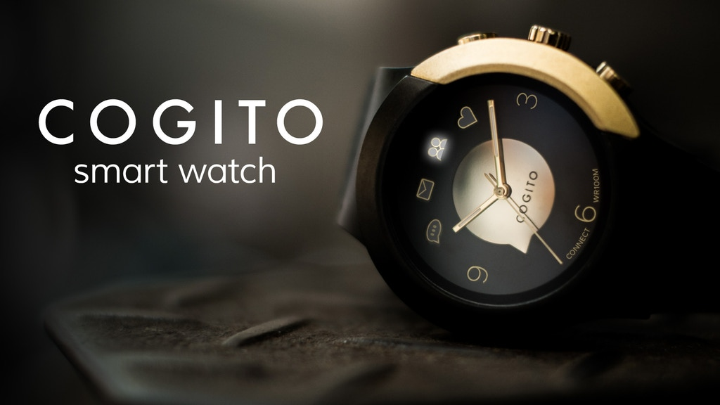 COGITO FIT: The beautifully connected watch project video thumbnail