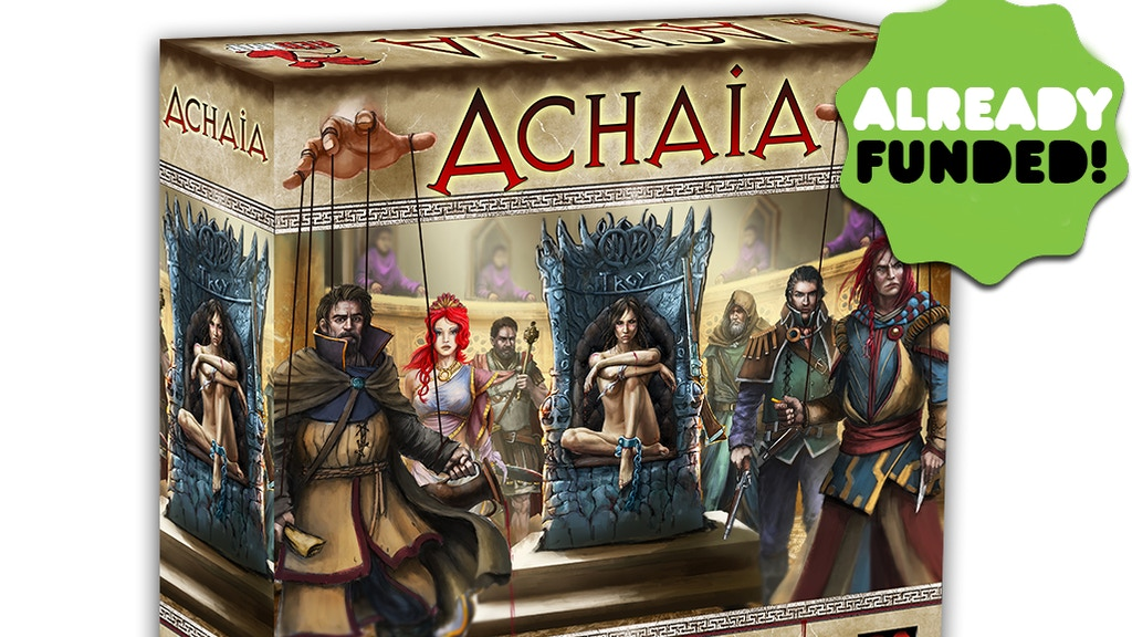 Achaia - English edition project video thumbnail