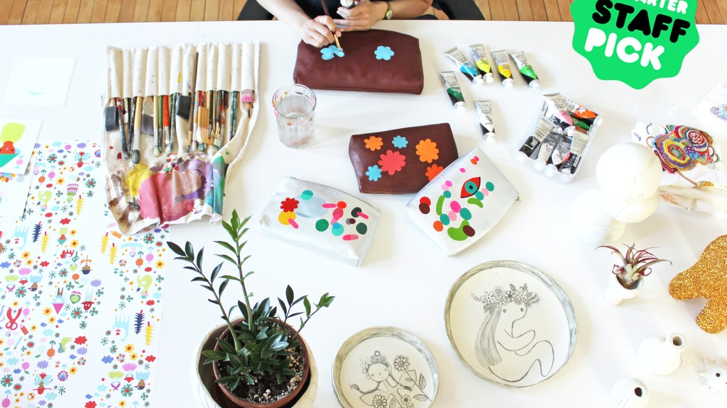 RANEYTOWN: bring Rebeca Raney's whimsical world to life project video thumbnail