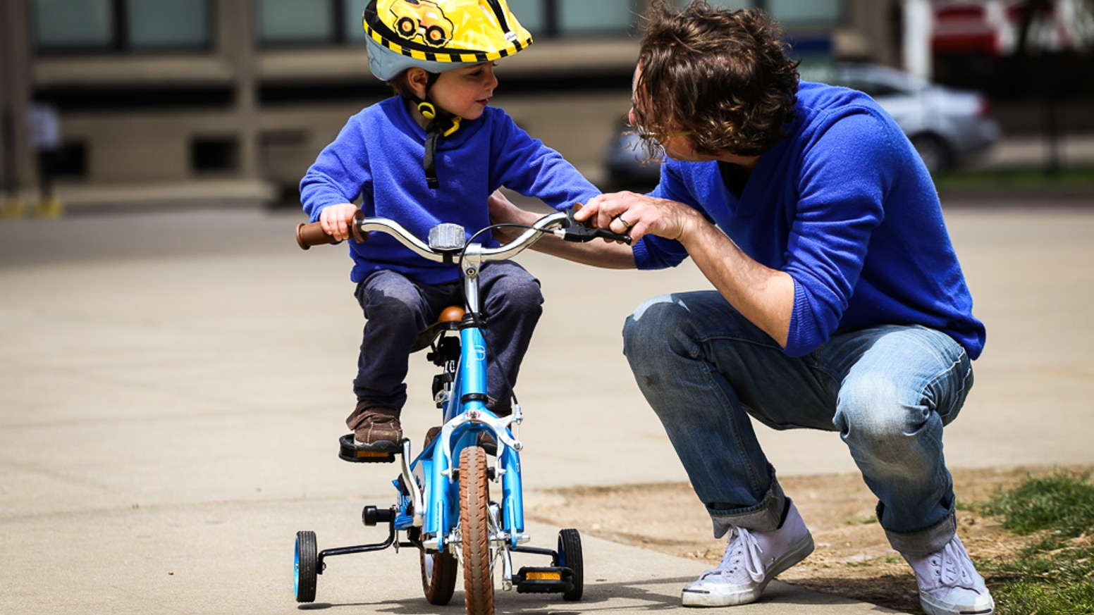 The most simple to ride, simple to maintain, and simple to adjust children's bike available, the Priority Start!