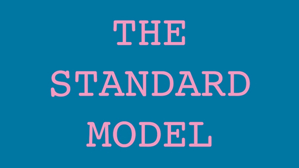 The Standard Model: Curatorial Propositions project video thumbnail