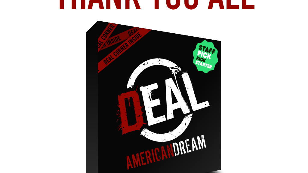 Deal American Dream Board Game project video thumbnail